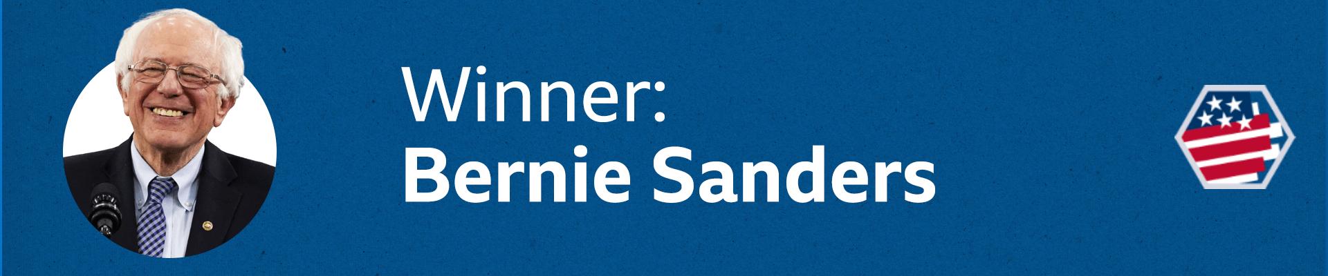 Winner: Bernie Sanders