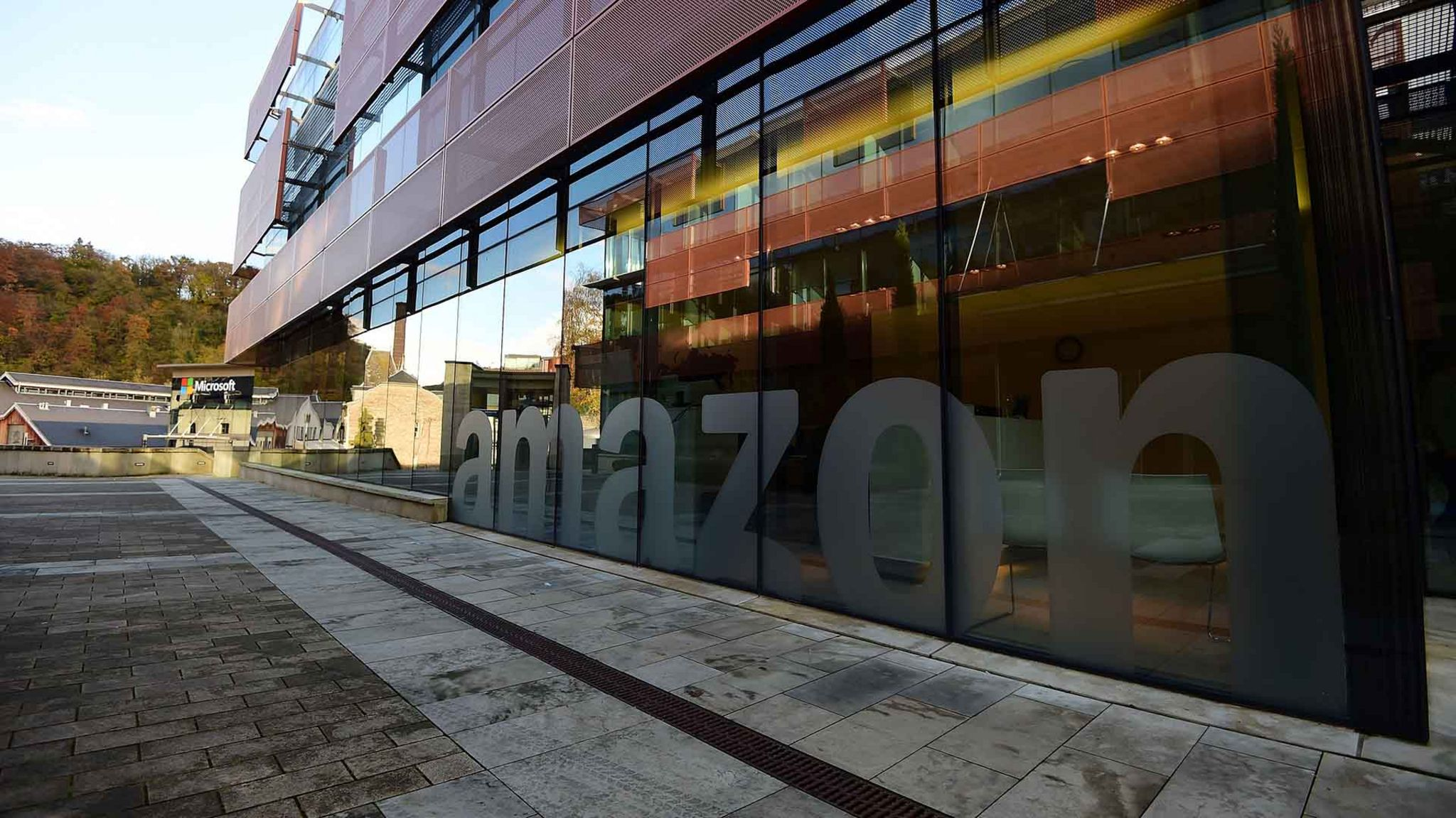 Amazon's headquarters in Luxembourg
