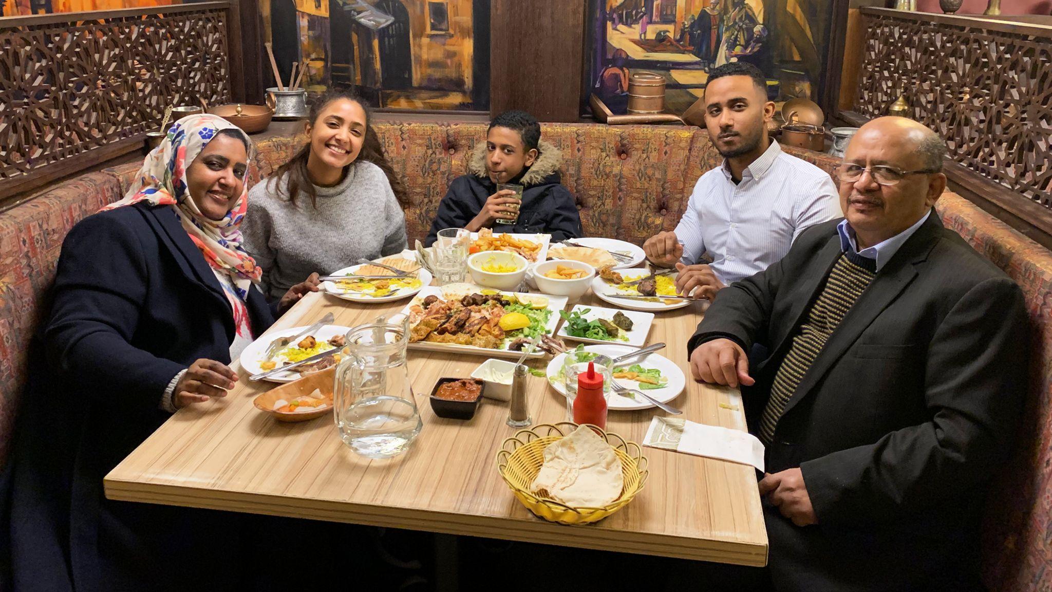 Adil El Tayar with family