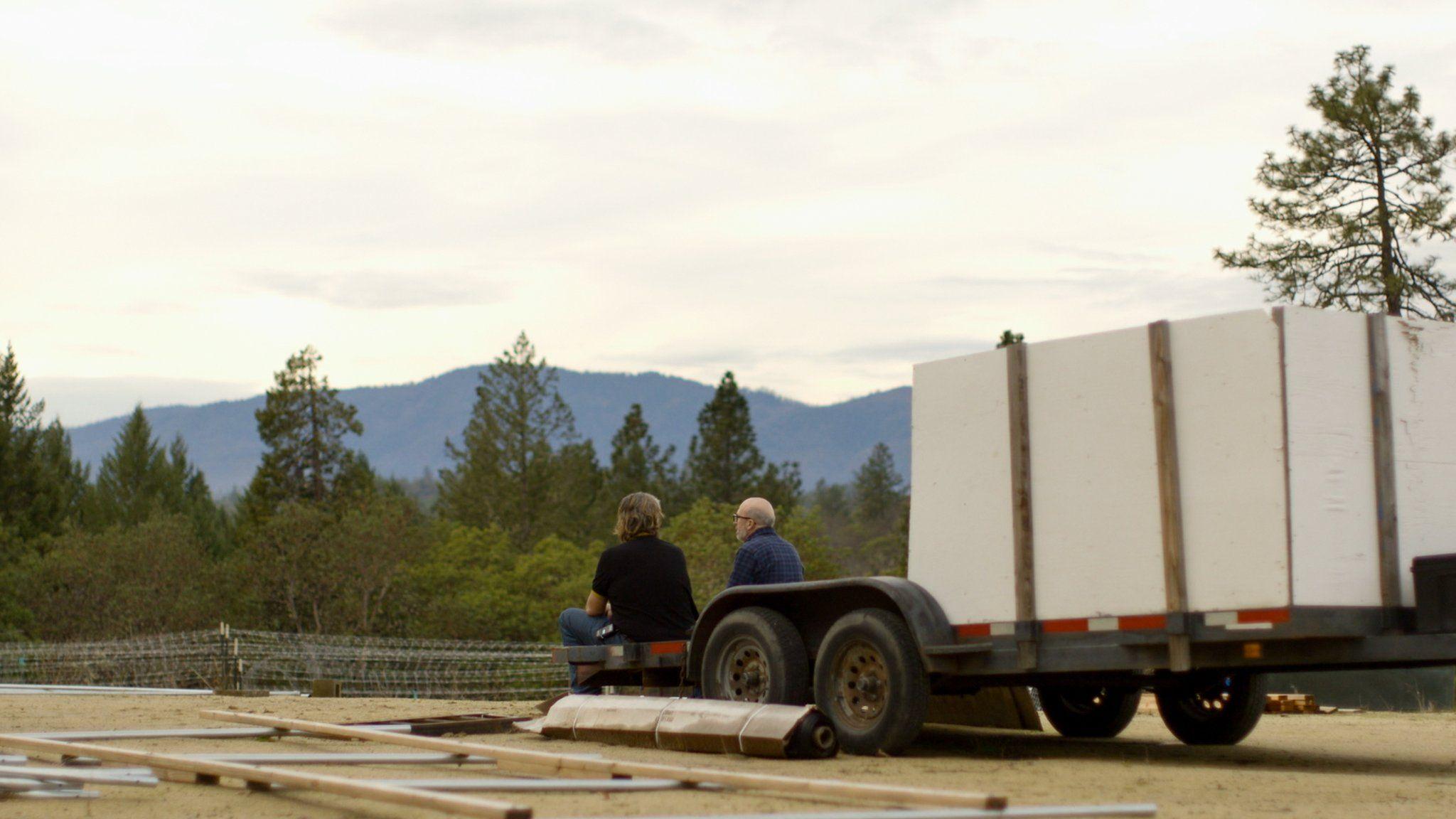 The marijuana farm in southern Oregon where Proud Boy Rob works
