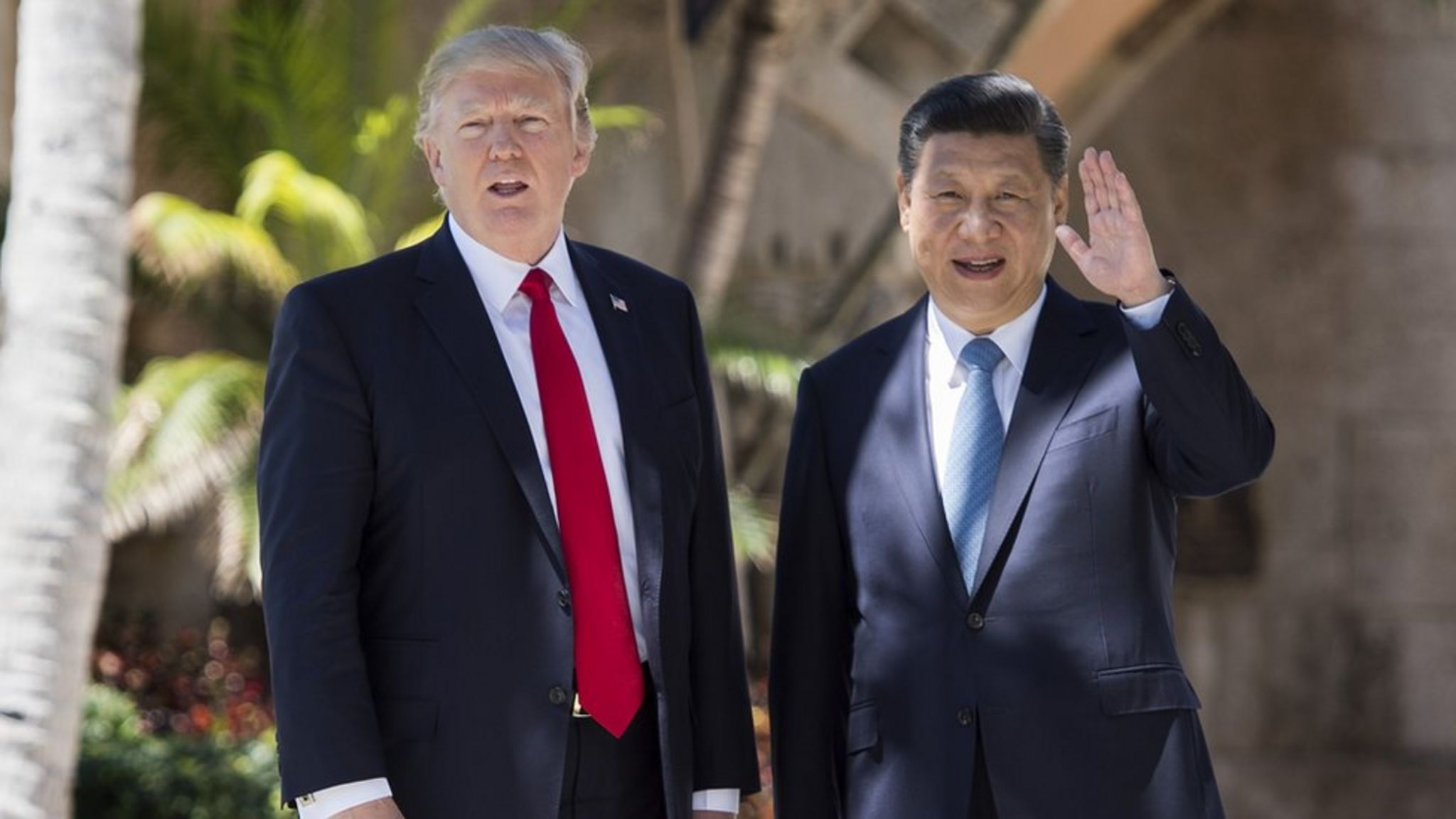 روسای جمهور چین و امریکا