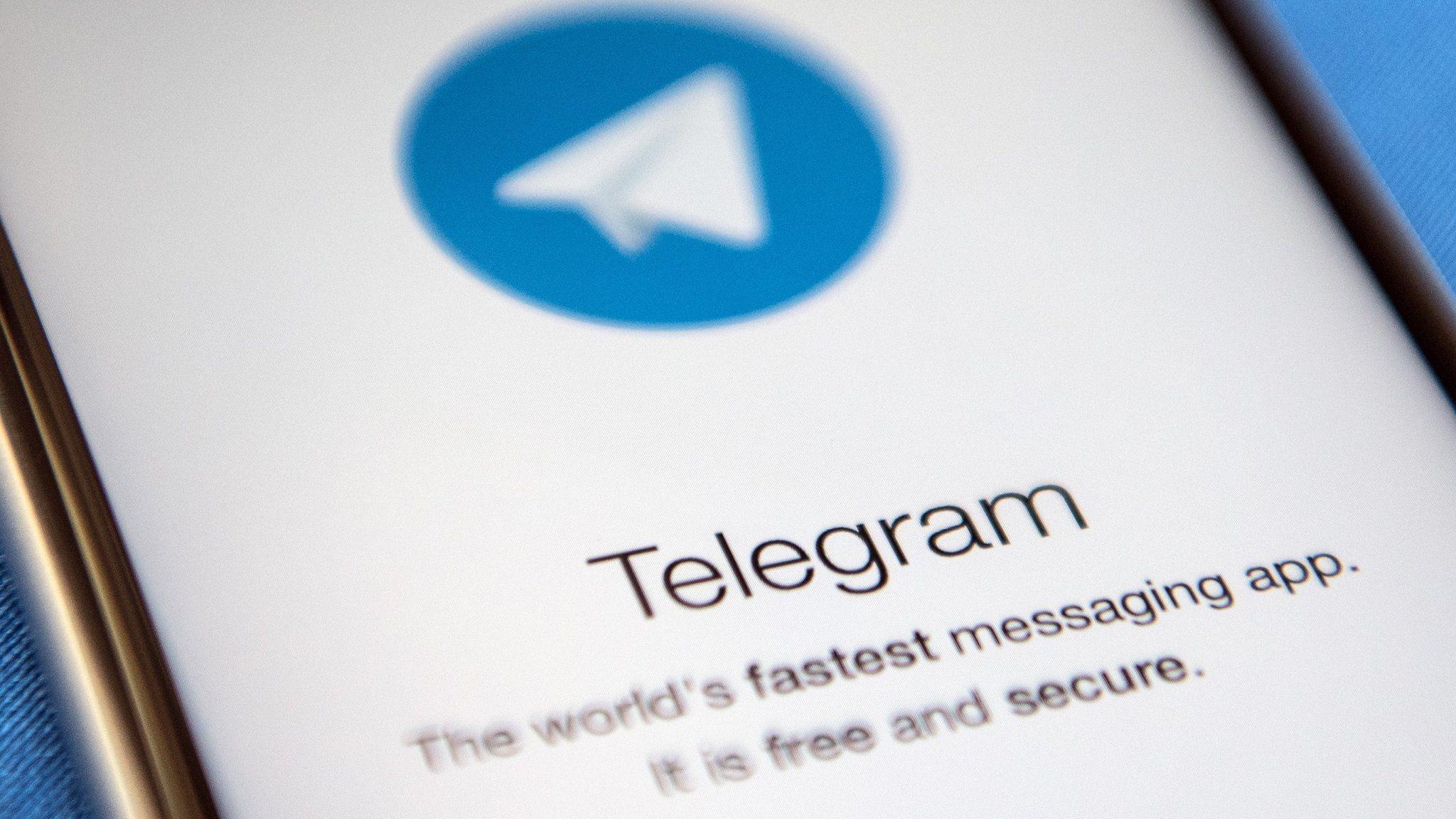 Apple removes Telegram from app store - BBC News
