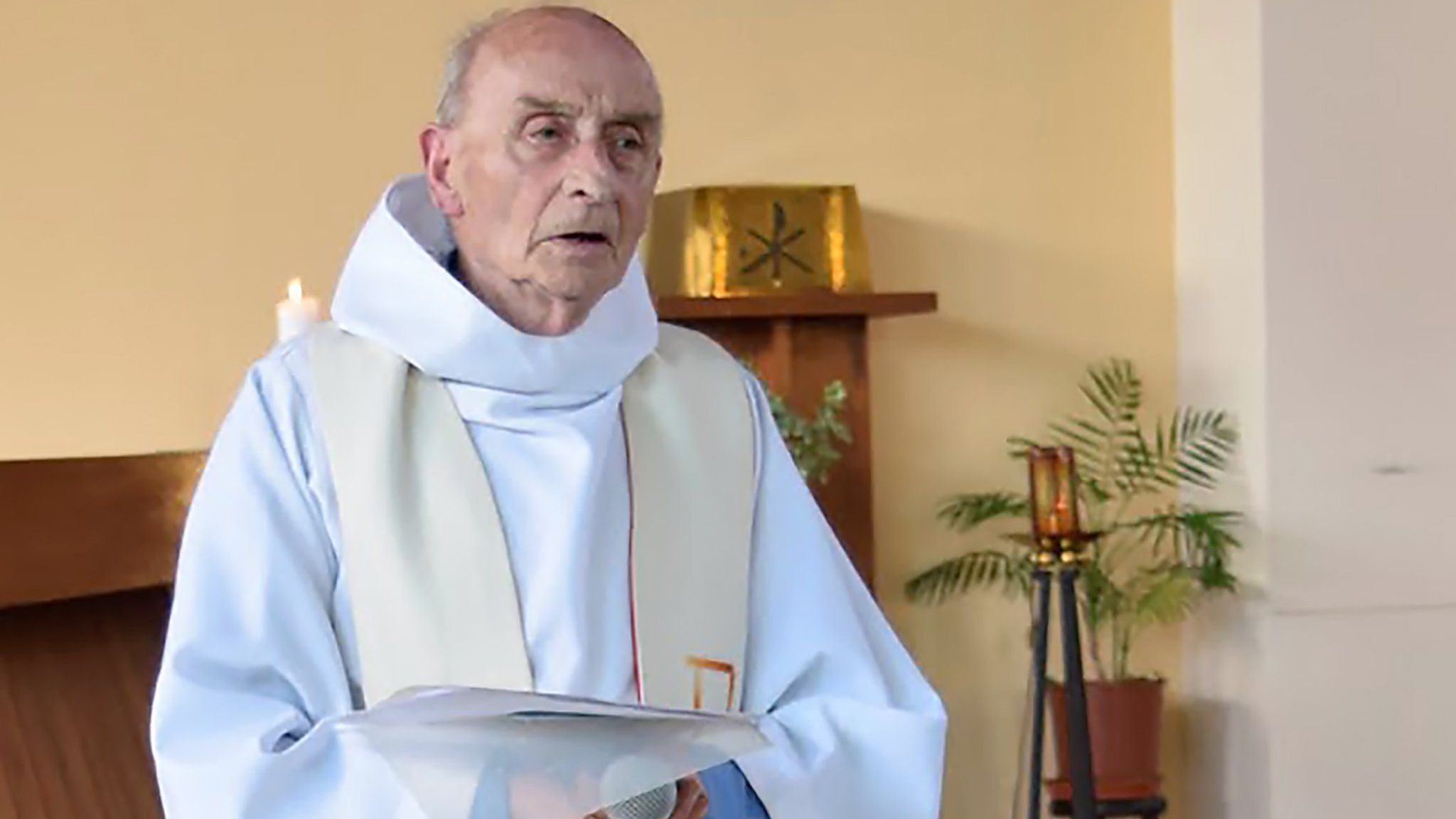 French priest takes his own life in church after abuse claims - BBC News