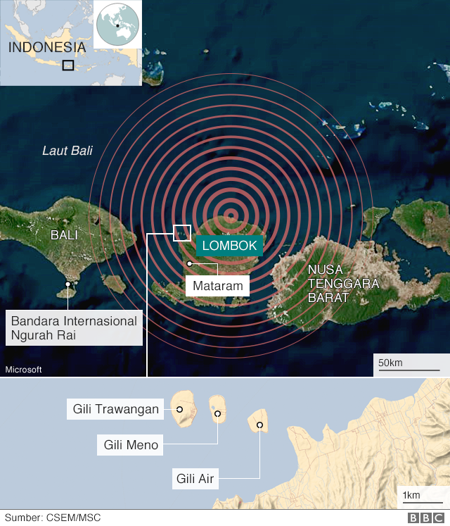 Mengapa gempa terus terjadi di Indonesia  - BBC News Indonesia bea5407c3a