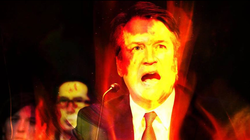 New York witches place hex on Brett Kavanaugh - BBC News