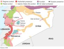 syria the story of the conflict bbc news