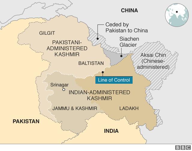 map of kashmir valley Kashmir Territories Profile Bbc News map of kashmir valley