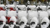 bbc.co.uk - Heavy snow hits Europe