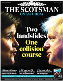 Scotland S Papers Two Landslides One Collision Course Bbc News
