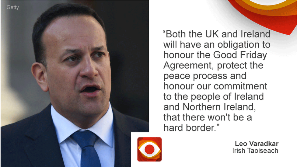 Brexit: Does the Irish peace accord rule out a hard border