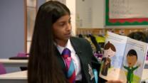 bbc.co.uk - Schoolgirl's autism awareness book