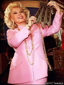 Zsa Zsa Gabor, pictured in 1996