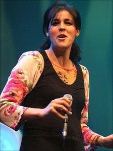 Souad Massi at the BBC Radio 3 Awards For World Music, April 2007