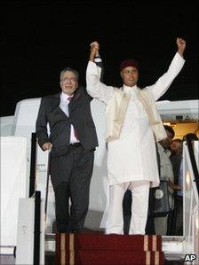 Lockerbie bomber Megrahi arrives in Libya in 2009