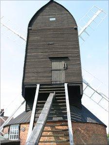 Reigate Heath Windmill prior to restoration