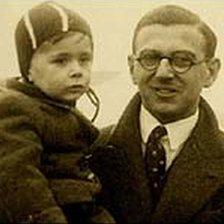 Nicholas Winton with child