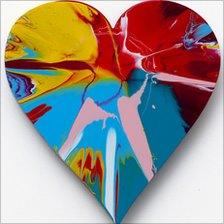 Damien Hirst heart