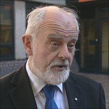 Keith Mitchell, leader of Oxfordshire County Council