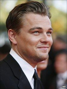 American actor Leonardo Dicaprio at the 60th International film festival in Cannes, southern France, on 19 May 2007