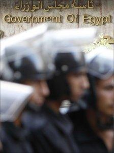 Egyptian riot police (file)