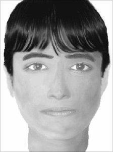 E-fit picture of suspect