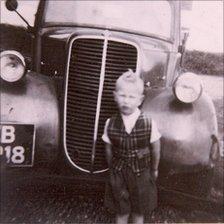 John Lydon as a boy