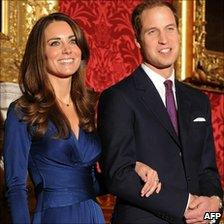William and Kate meet the press