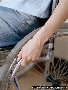 Man in wheelchair generic