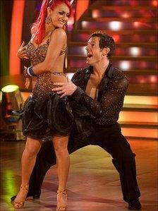 Matt Baker and Aliona Vilani