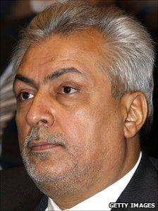 Iraqi oil minister Abdulkarim al Luaybi