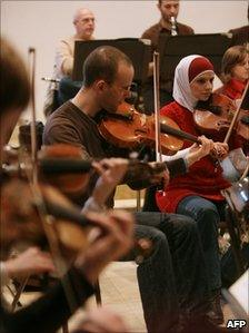 Palestinian National Orchestra, December 2010