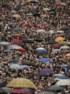 Basque independence march, Bilbao, 19 Feb
