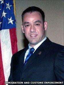 US agent Jaime Zapata