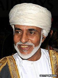 Oman's Sultan Qaboos
