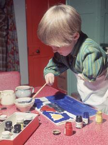 Thalidomide child in 1968