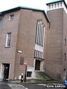 Capel Jewin Llundain (llun gan John Samuel)