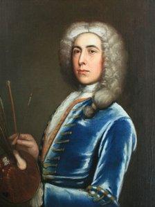 Edward Owen - hunan bortread - 1732