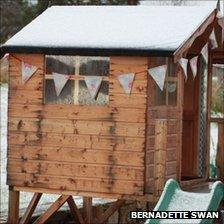 Snow in Grantown on Spey