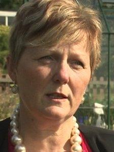 Sue Foster-Agg head of Vaynor First School