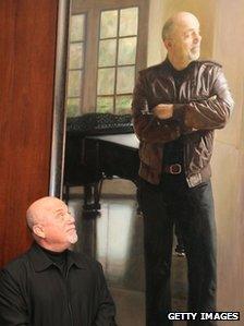 Billy Joel portrait