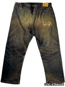 Old Levi's jeans
