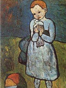 Child With A Dove by Pablo Picasso