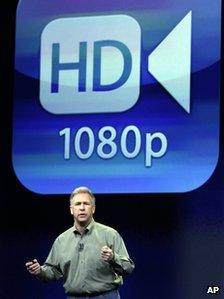 Phil Schiller discusses the high-definition capabilities of the tablet