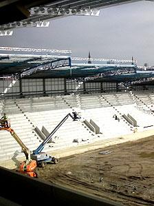 The new 12,000-seater Rotherham United stadium