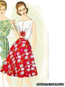 One of Collette Costello's designs