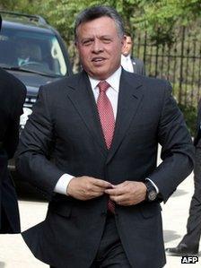King Abdullah (2 May 2012)