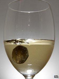 50p in wine class