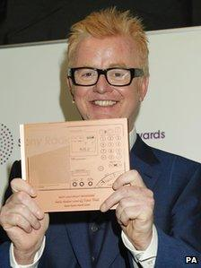 Chris Evans at the Sony Radio Academy Awards