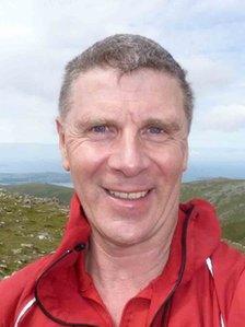 John Hulse, un o arweinyddion Tîm Achub Mynydd Dyffryn Ogwen