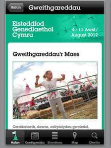 App yr Eisteddfod